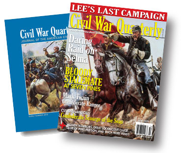 Civil War Quarterly cover