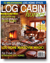 Log Cabin Homes cover